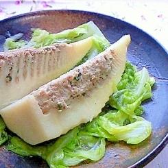 たけのこ餃子(筍の餃子あん詰め)