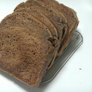 チョコ風味♪豆乳塩麹食パン