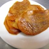 柿チップス 簡単おいしい☆柿消費にドライフルーツ