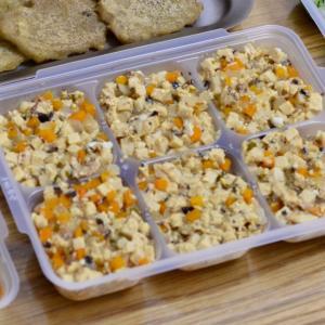 離乳食✴高野豆腐と野菜の卵とじ