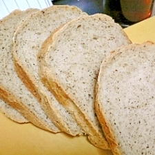 ホームベーカリーで作る紅茶の食パン