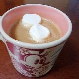 ぷわぷわひゅるりん♪マシュマロコーヒーミルク甘酒