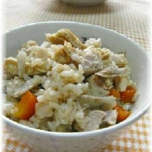 お肉を使った「炊き込みご飯」レシピ