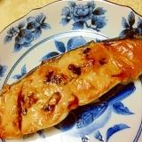 韓国風さわらのマヨコチュジャン焼き
