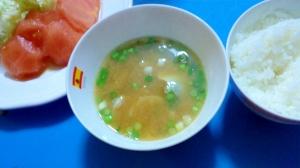 ユリ根の味噌汁