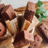 Cocoa short bread