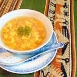 意外と本格中華コーンスープ