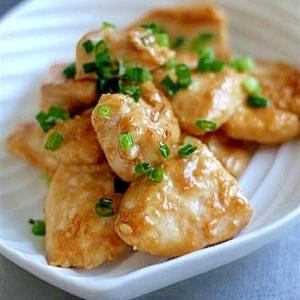 鶏むね肉の塩麴マヨポン