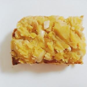 薩摩芋クリームピーナッツトースト