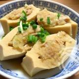 シーチキン高野豆腐詰め
