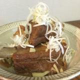 フライパンで簡単!スペアリブで作る豚の角煮★