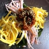 ワカメでヘルシー♪♪♪冷やし中華風サラダ♪♪♪