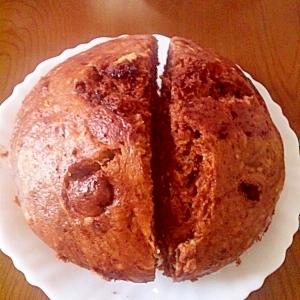 もちふわあっさり蒸しパン
