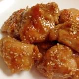 ふっくらジューシー☆鶏肉のごま照り焼き