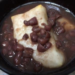 小豆の缶詰で簡単☆ハチミツ入りおしるこ