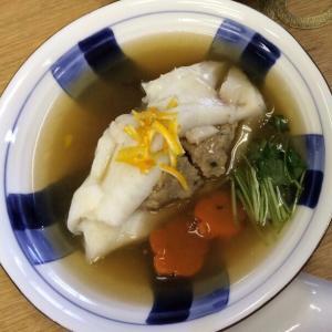 白身魚の蒸しあんかけ ゆず風味