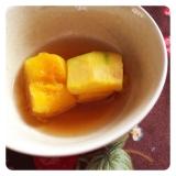 《離乳食》レンジで簡単!かぼちゃの煮付け。