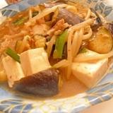 マーボー豆腐&野菜