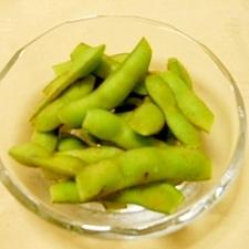 枝豆は新鮮なうちに茹でてしまお~♪