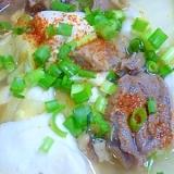 簡単!豆腐と白菜の牛すじ煮込み