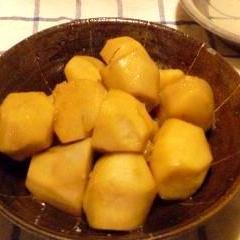 日本酒でコク深まる★里芋の煮っころがし