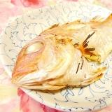 グリルで簡単❤鯛の姿焼き❤