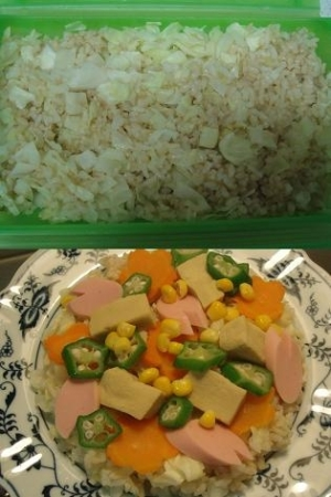 キャベツダイエット 酢飯