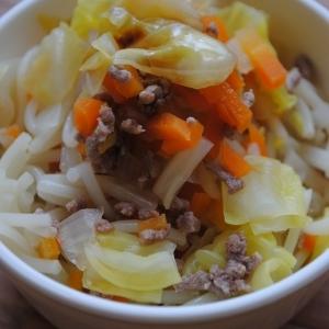 【離乳食後期】野菜ひき肉そうめん