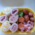 子どものお弁当に♪大好きサンドイッチロール★3種