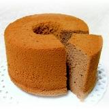 板チョコdeシフォンケーキ