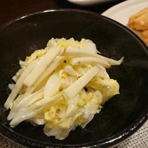 白菜とリンゴのコールスローサラダ