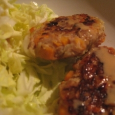 ひとくち☆野菜ハンバーグ