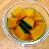 お弁当にや常備菜に☆レンジで簡単!かぼちゃの煮物