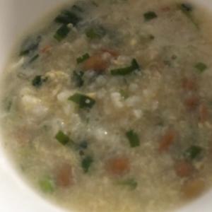 納豆味噌汁雑炊