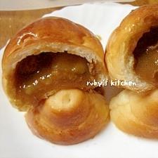 カレーINロールパン