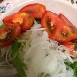 玉ねぎスライスサラダ