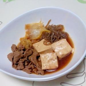 韓国風!肉豆腐++