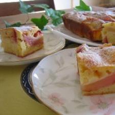 ヨーグルトと林檎のハーモニー♪アップルケーキ