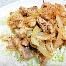 豚肉とキャベツのカレー炒め