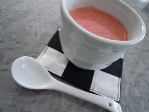 冷製☆トマトヨーグルトスープ