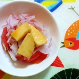 長芋の醤油漬けサラダ