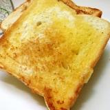 フライパンで☆ガーリックトースト