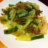 ひき肉野菜炒め