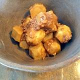 ほっこり☆里芋とひき肉のそぼろ煮
