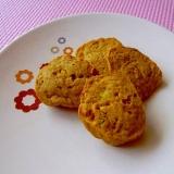 トースターで簡単♪かぼちゃおからクッキー♪