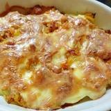 ミンチ肉とじゃがいものチーズ焼き