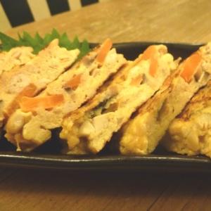 炒り豆腐リメイク!家族大人気の卵焼き♪お弁当にも♪