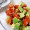 トマトとアボカドのサラダ