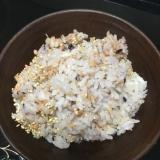 鮭フレークの炊き込みご飯