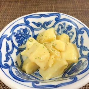 超簡単付け合わせ!ポテトのバター醤油味